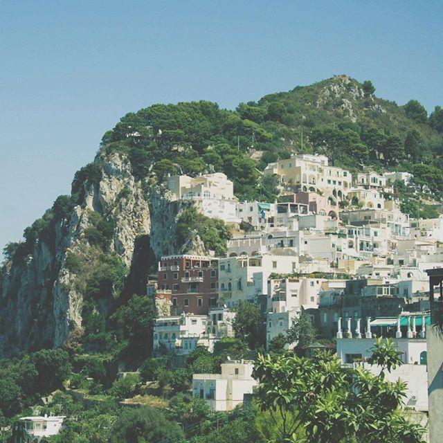 I will always miss this and look forward to it again. #capri #capriisland #italy #italia #europe #travel #wanderlust
