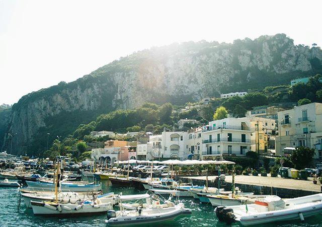 My first view of the Capri. #capri #capriisland #italy #italia #europe #travel #wanderlust