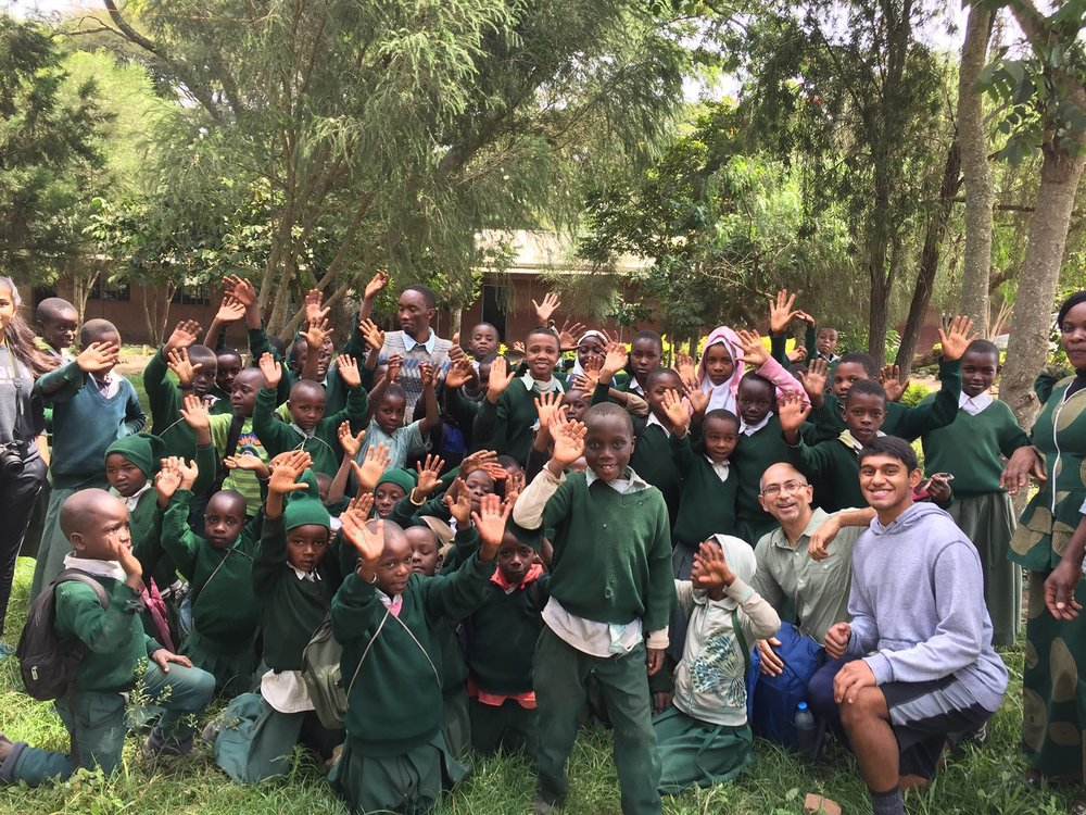 The Batish Family arrived safely in Arusha, and has already begun sanitation education and building hand washing stations! Visit the Tanzania Page to learn more!