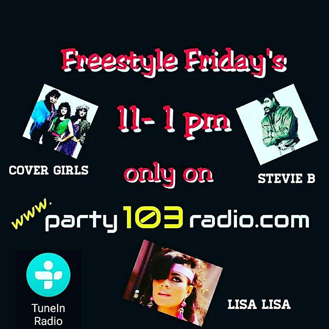 It's freestyle Friday's only on party103radio.com tune in now!!
