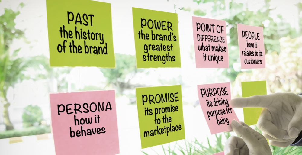 Our unique process explores the brand's storied past, greatest strengths, unique qualities, customer segments, original personality, unique selling proposition, and it's underlying purpose. We refer to these as your Brand's Positive Attributes.