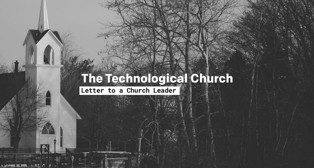 writing jessica fredricks the technological church • essay