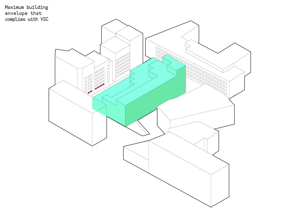 Maximum building envelope - VSC