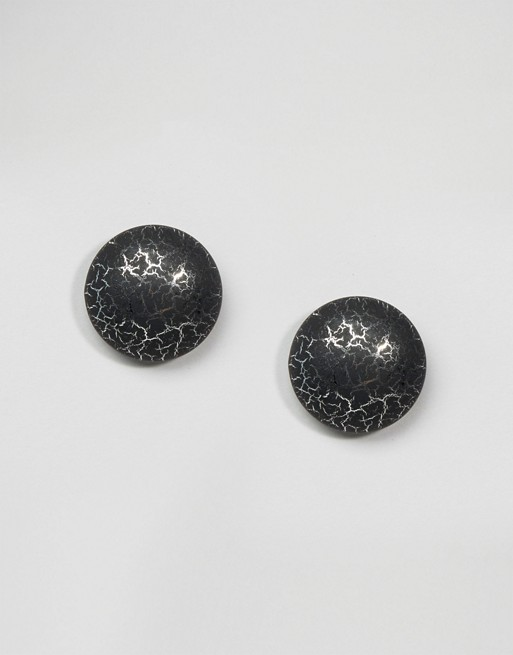 Suzywan Halloween Cabachon Stud Earrings