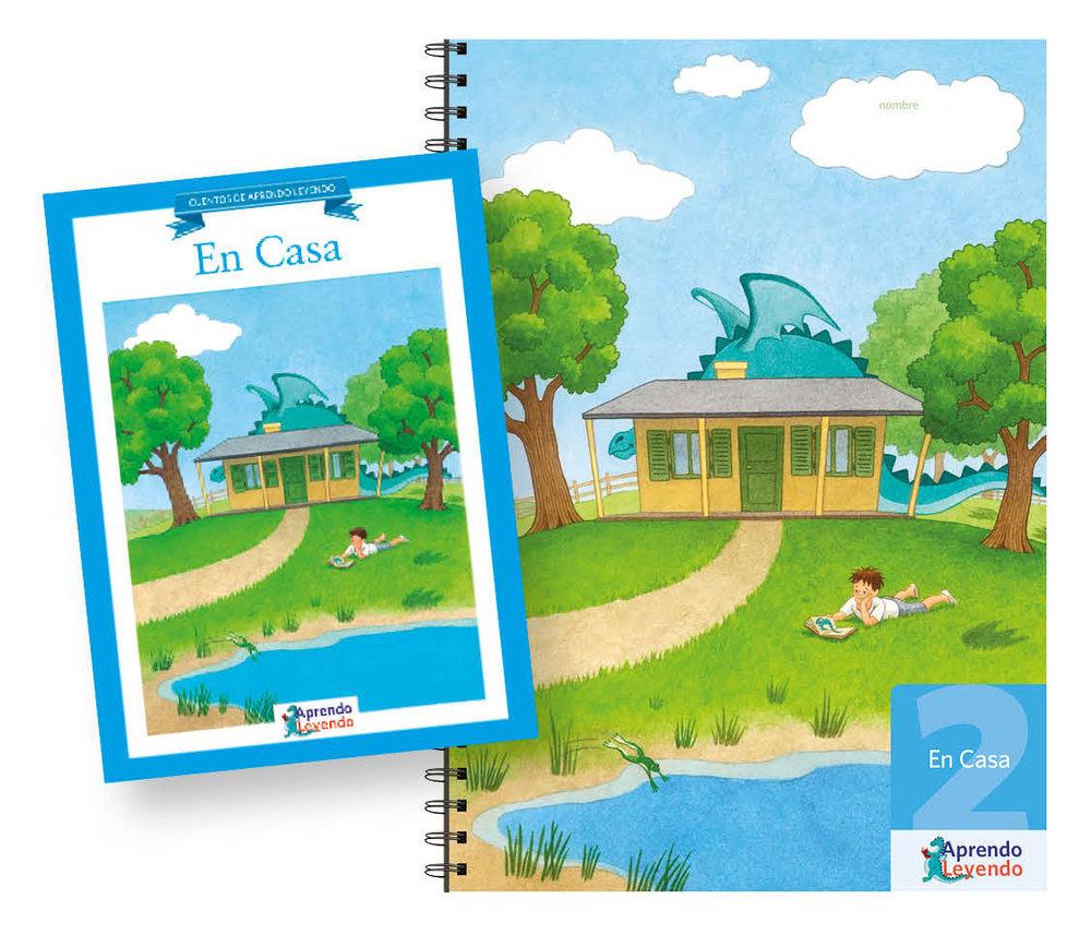 Cuadernillo 2 y Cuentos En Casa