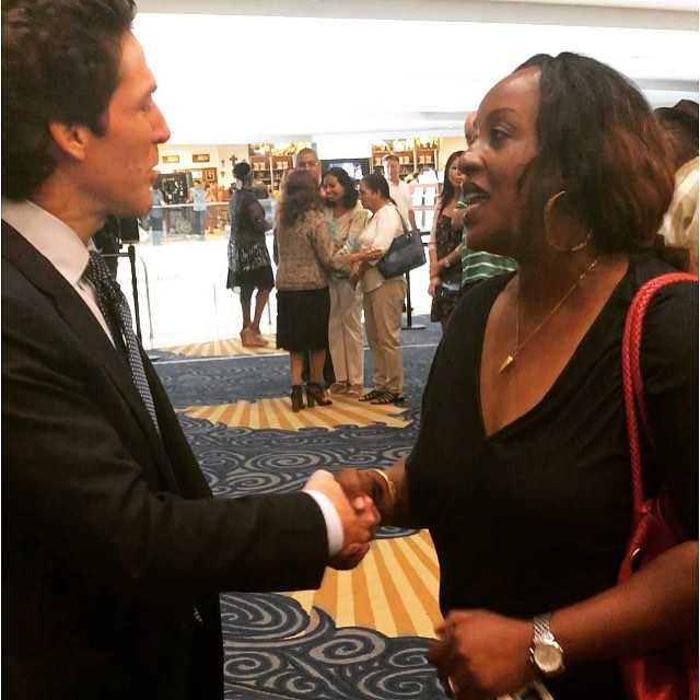 THANK YOU Pastor @joelosteen for your encouraging words!! Have a BLESSED week, errbody❣Let's GO. #greatmessage #exactlywhatineededtohear #GODiswithinHERshewillnotfall #hustleHER
