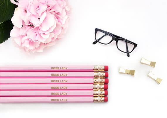 These because they're pretty, and to remind you that you're a boss lady.