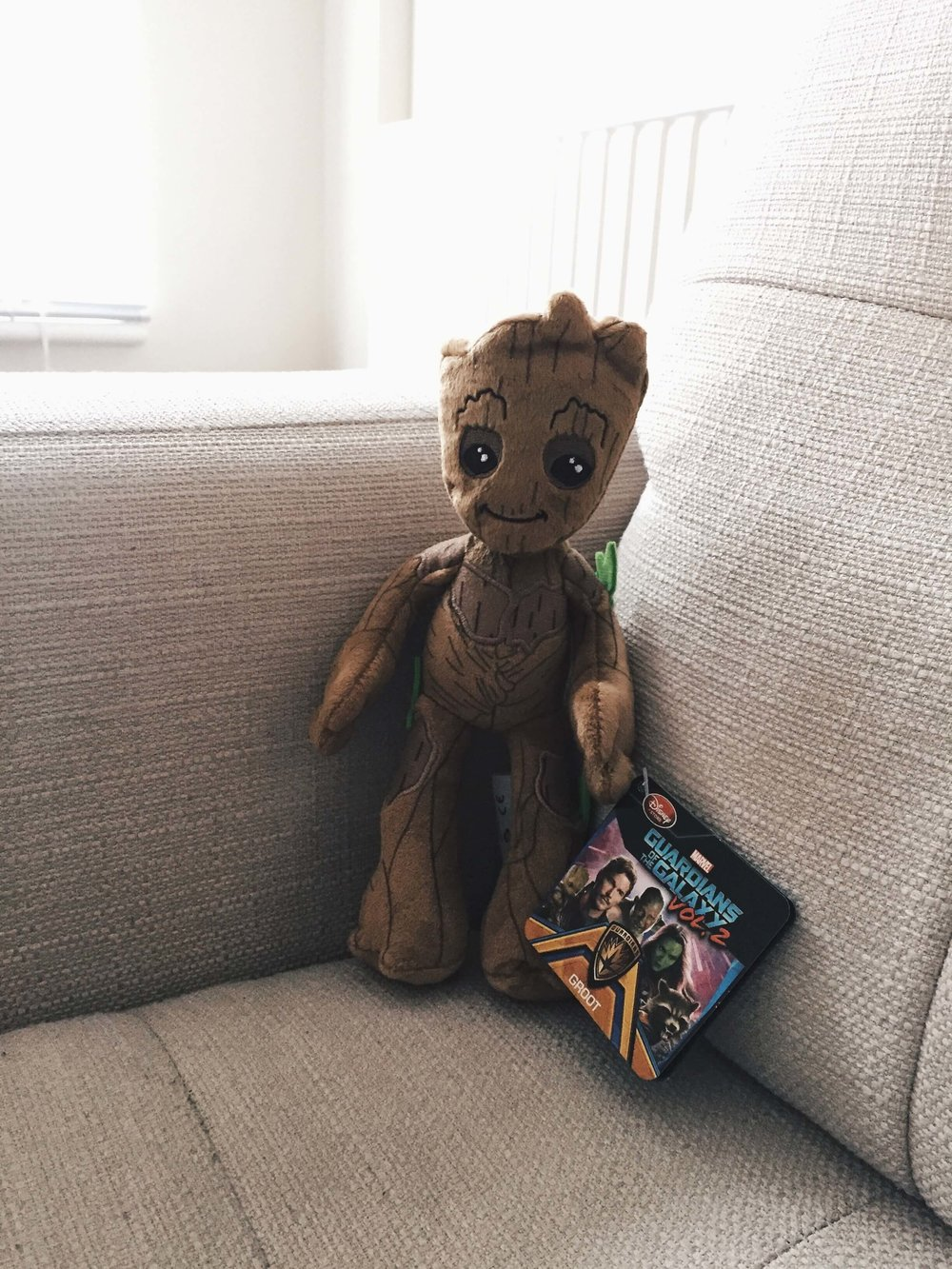 Has anyone seen Guardians of the Galaxy? Groot is the cutest, so I had to get him!