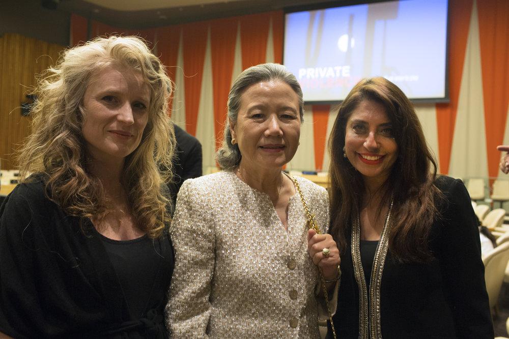 BanSoon-taek_Cynthia Hill_UNWFP Chair Muna Rihani Al-Nasser.JPEG