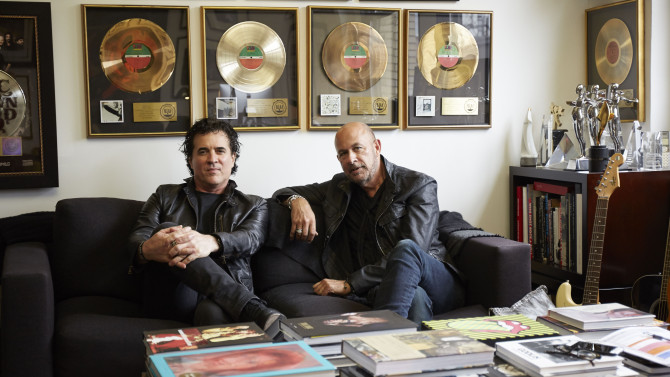 - Big Machine Label Group President/CEO Scott Borchetta and fashion designer John Varvatos announced Thursday a new joint venture that will find the two discovering and developing new rock acts. The new venture is called simply Big Machine Records/John Varvatos Records, and its first act is California-based rock band Badflower.