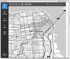 Zoom into SF on Mapbox