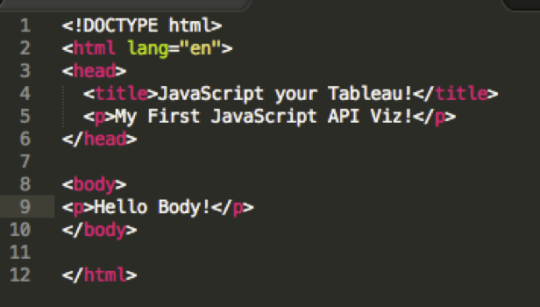 Tableau JS API 101 — DataBlick