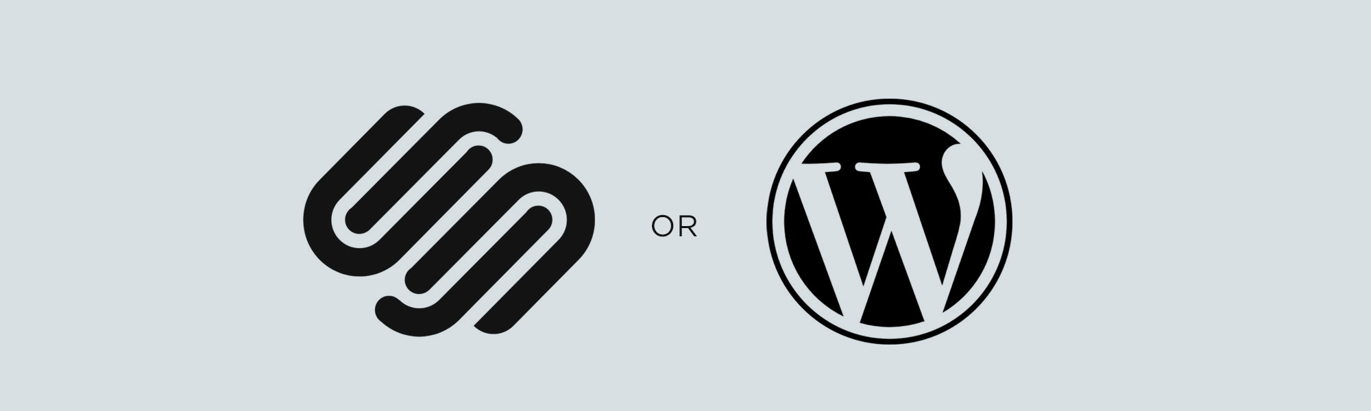 WordPress or SquareSpace
