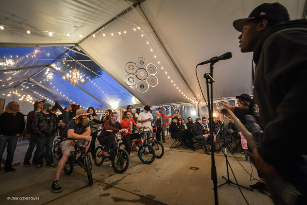Bicycles, music, film, art, rides, races, food and fun