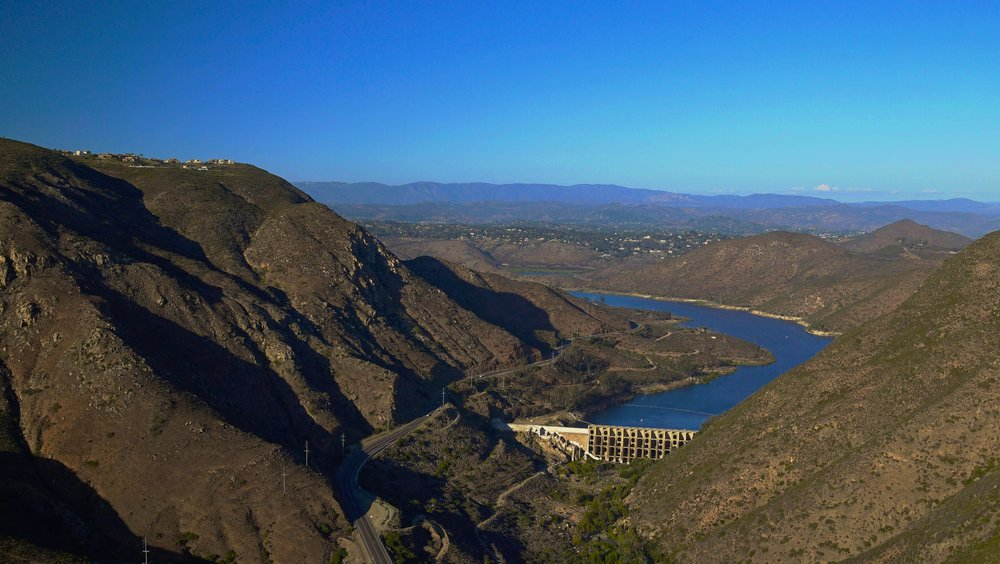 Lake Hodges San Diego Helicopter Ride