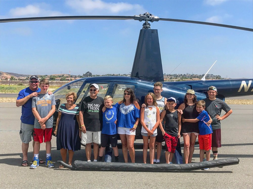 Bring your family out for a day at the airport and take turns going up on an amazing helicopter ride with us!