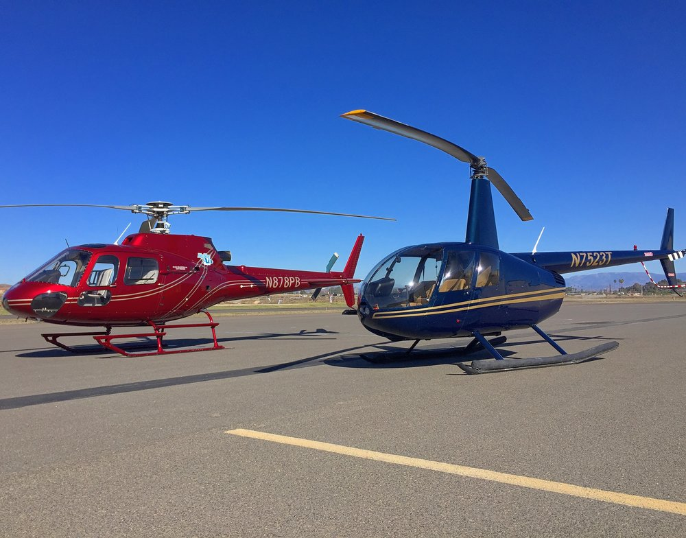 Helicopter Charter San Diego