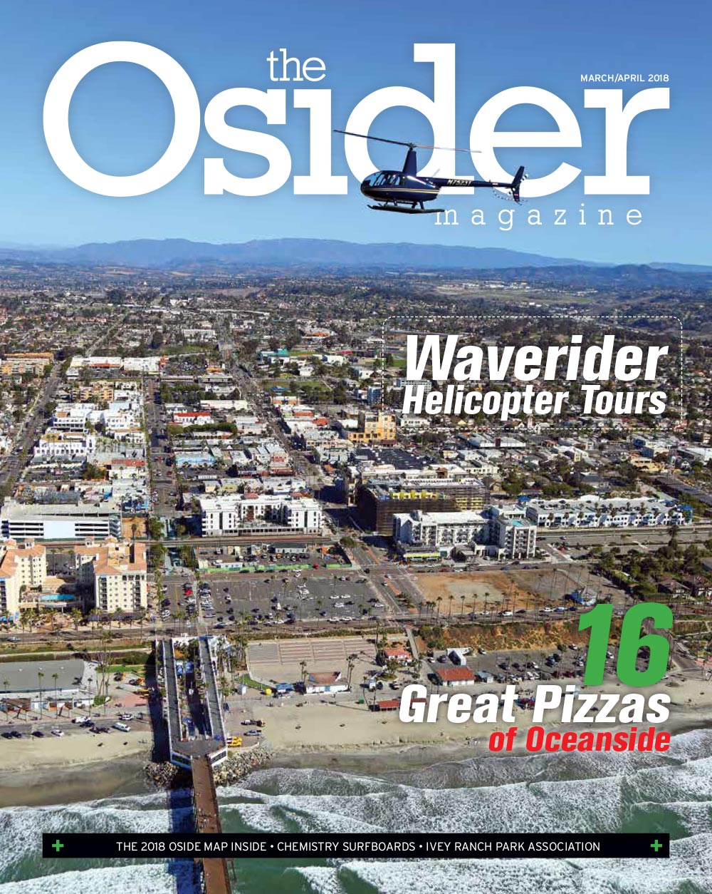 The Osider Magazine - San Diego Helicopter Tours and Charters