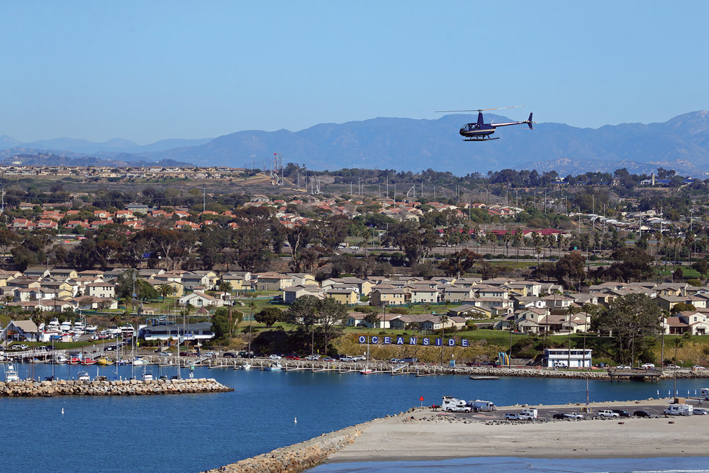 San Diego Helicopter Rides and Helicopter Charters