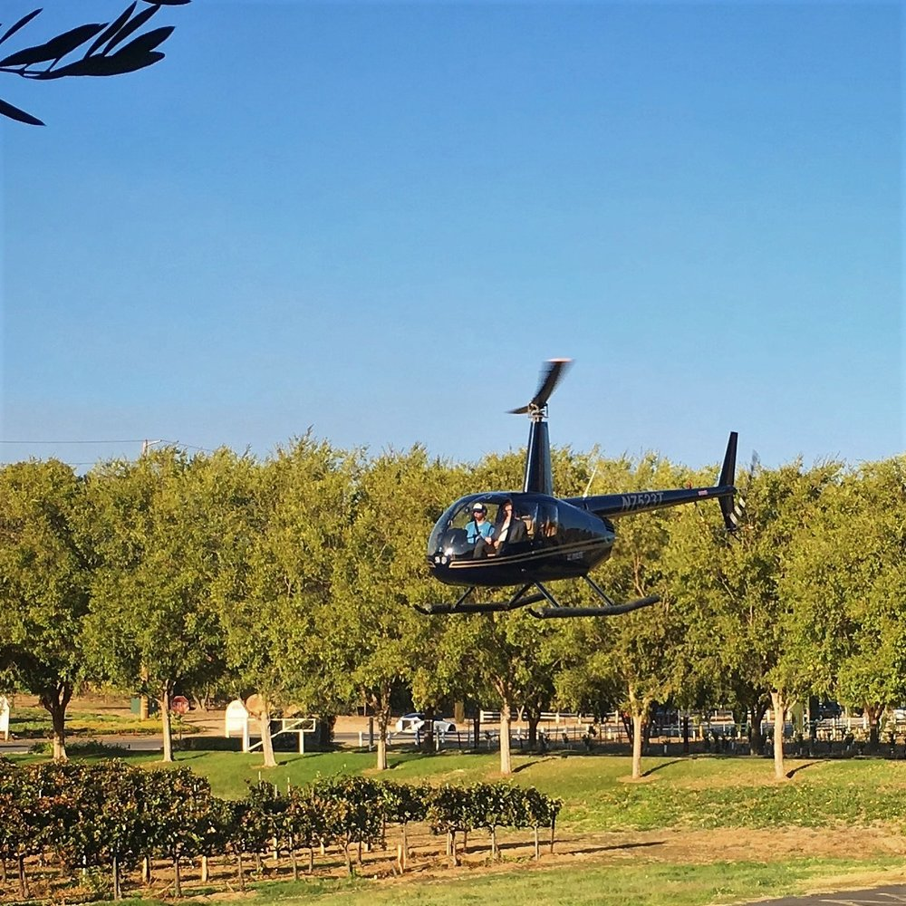 Land directly at Thornton Winery VIP style! -