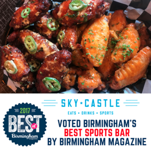 "Birmingham Magazine: Sky Castle      ""Wine & Dine: the results of 2017 Best of Birmingham"""