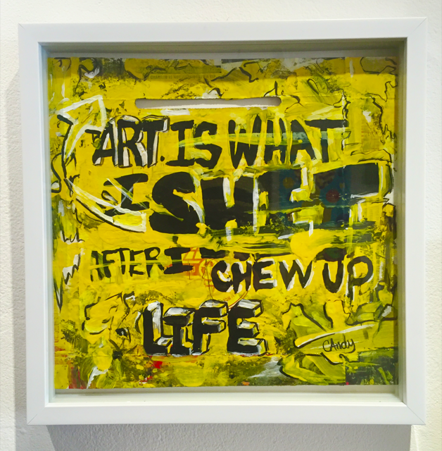 "Candy Warhol/""Art is Shit""/2016"