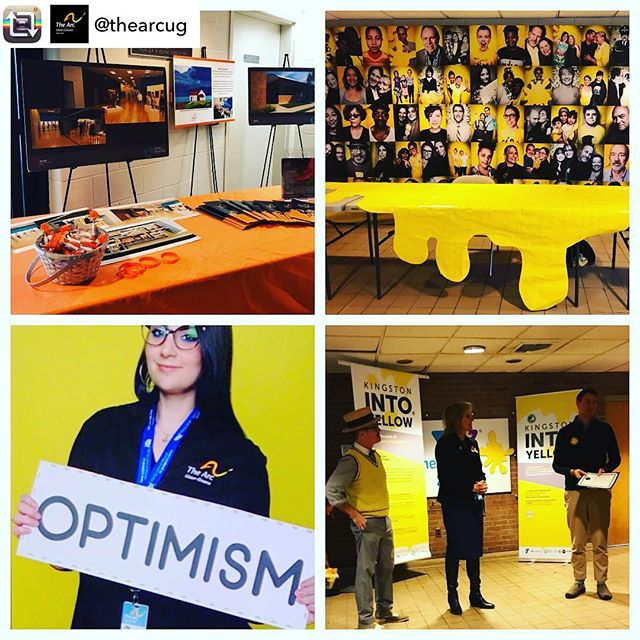Looks like Kingston's International Day of Happiness Community Dance Party was a blast!! Thank you again to @ymca_of_kingston_and_ulster_co  for hosting all our Optimistic Rebels and giving them a place to boogie🕺We are thrilled to give the Kingston community a reason to get together and have some fun! #optimism #INTOyellow #IDoH