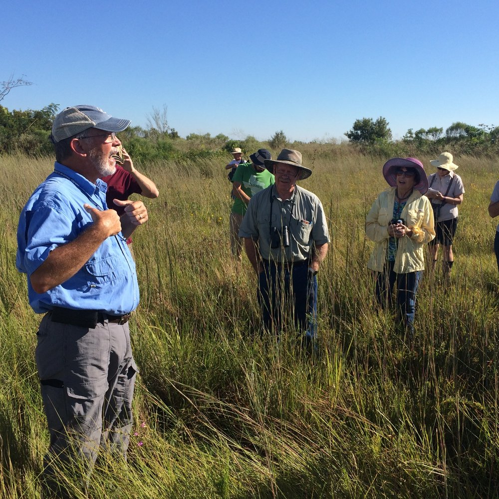 Larry Allain, USGS Wetlands Research Center