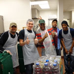 Breaking Bread Breaking Bread is considered both a ministry of LaSalle Street Church and a partner ministry.  Breaking Bread reaches out to hungry and homeless individuals and families in our neighborhood. Each Wednesday evening, we serve a home-cooked meal to more than 100 guests. We also provide clothing, referrals, health services, and a family experience for our guests. Come check us out and see if this is a place you'd like to serve. To volunteer, contact Marianne Pytel, Volunteer Coordinator. Email Marianne