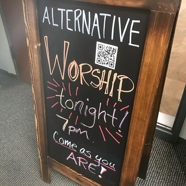 We had such a powerful service tonight. Thanks to all who shared themselves with us. #theroom #altworship #nearnorthside #chicago