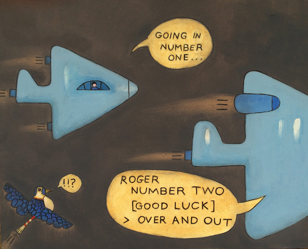 Going In Number One  (2010), 16 x 20 in, oil on canvas