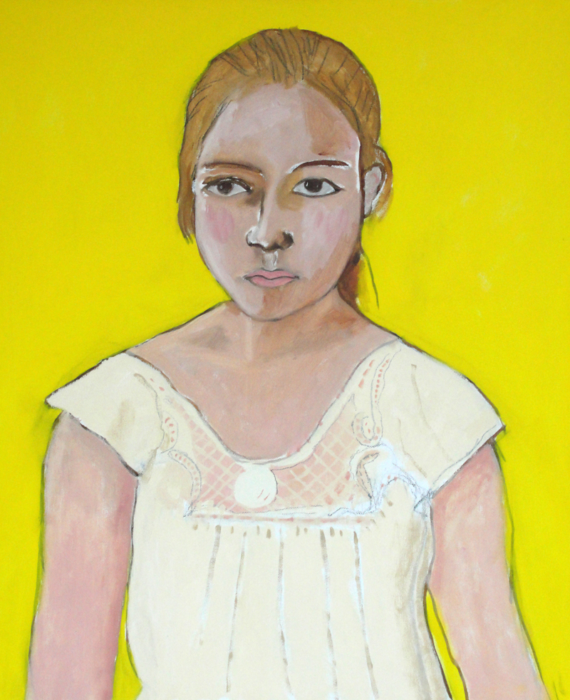Paloma  (2011), 24 x 20 in, oil on canvas