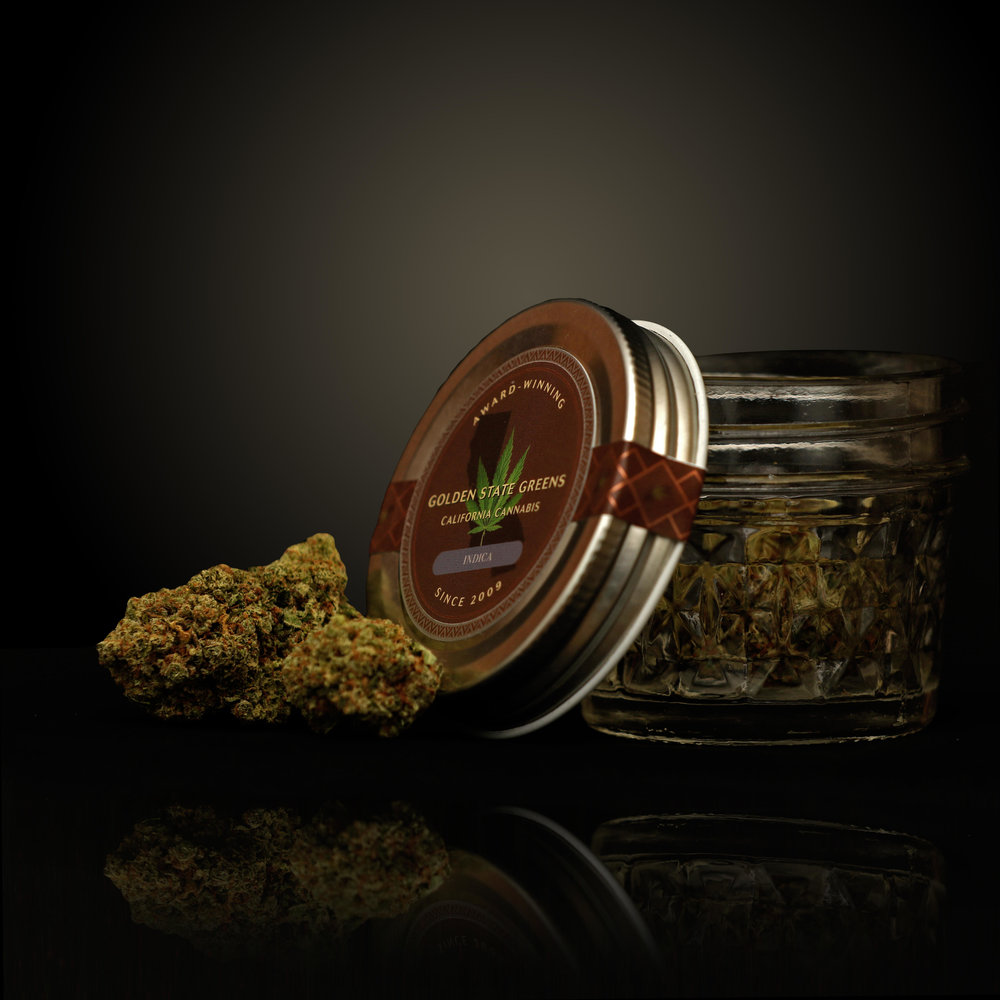 Golden State Greens - Custom Jar