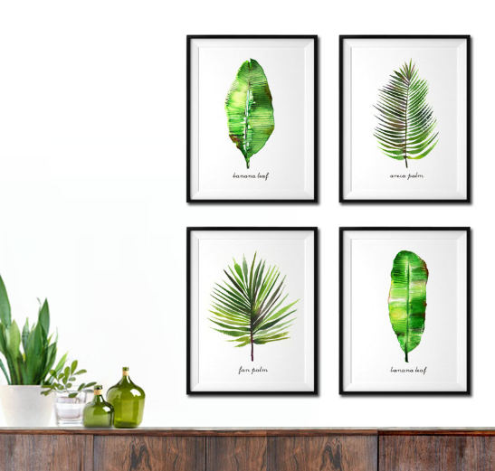 I love that these come in customizable sets- they are the perfect add to a blank wall!