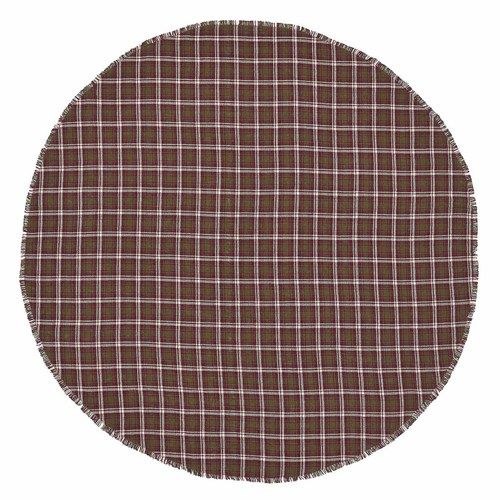 Jacksons Plaid Round Table Cloth by Simply Chic