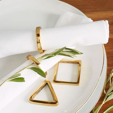 Stackable Napkin Ring Set by West Elm