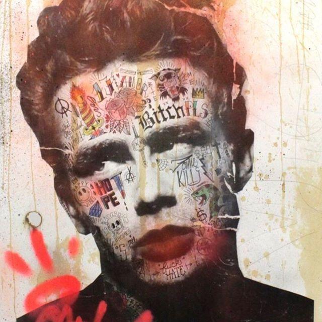 James Dean by @stikki_peaches