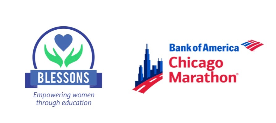 OFFICAL CHARITY PARTNER OF THE BANK OF AMERICA CHICAGO MARATHON    Join Team Blessons on Sunday, October 13th, 2019!