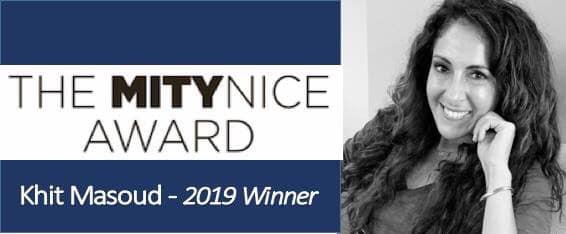 """""""Mity Nice Award"""