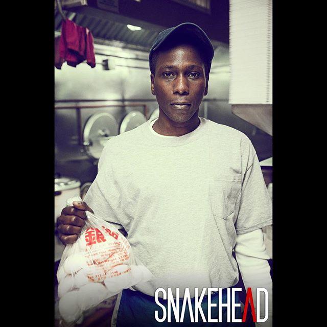ZAREEB played by @yacinedjoumbaye  #snakeheadmovie 📸@williamhereford