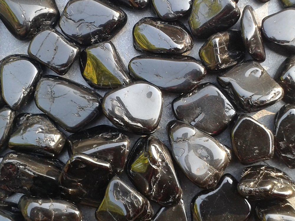 BLACK TOURMALINE - excellent protective stone,