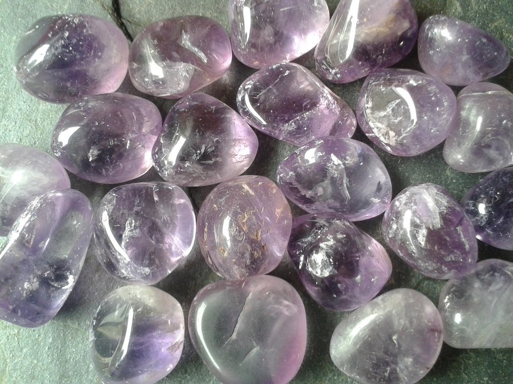 AMETHYST - for a calm mind, spiritual growth and transformation