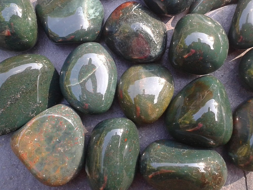 BLOODSTONE - to detox and nourish the physical body
