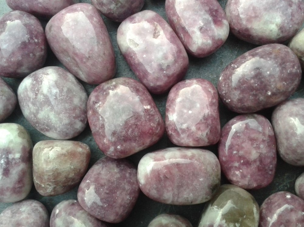 LEPIDOLITE - to ease stress, anxiety and depression