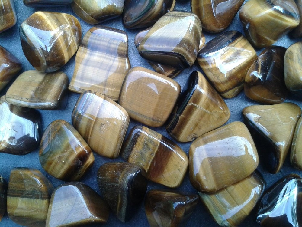 TIGER'S EYE - for strength, stamina, determination and self-belief