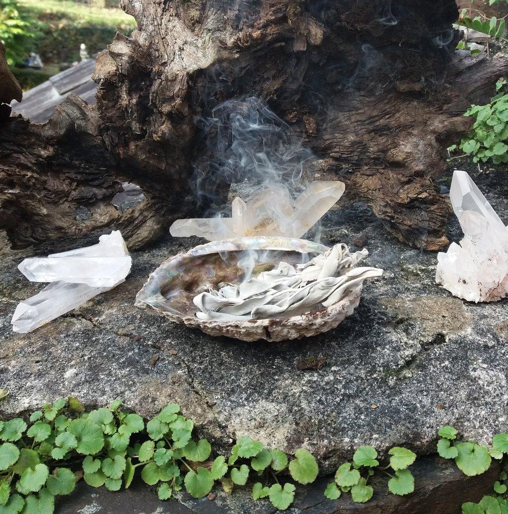 Blog 2-2019 Feb-White sage burning.jpg