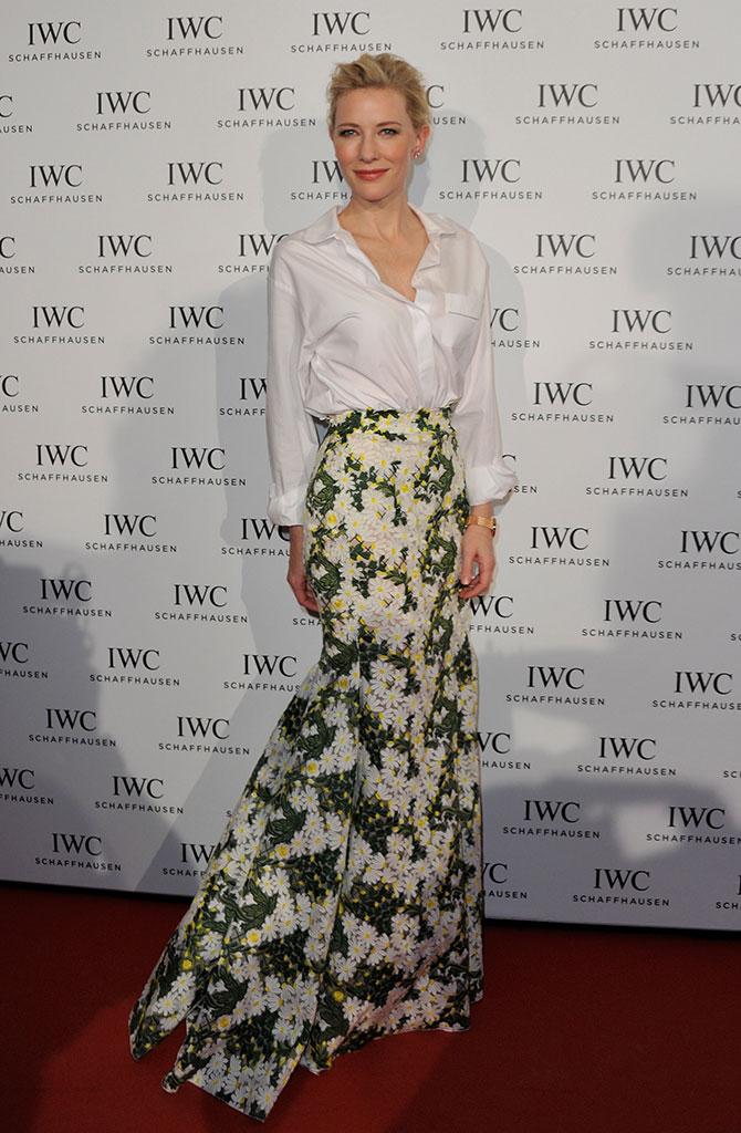 Cate Blanchet aprueba con nota en todos sus looks