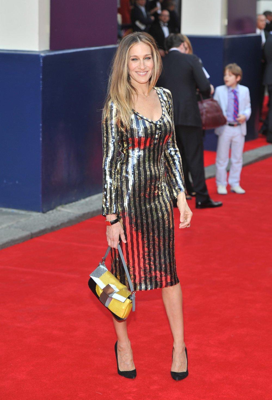 Sarah Jessica Parket con bolso Baguette