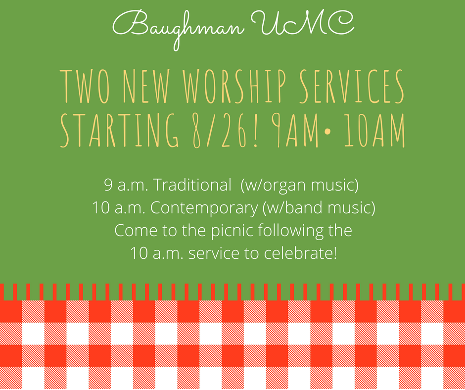Two new worship seRviCes staRting 8%2F26! 9am• 10Am.png