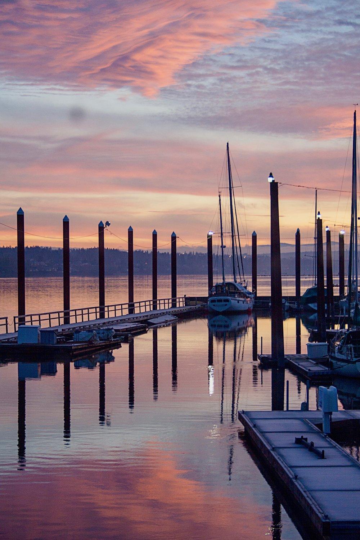 Houseboat Sunrise
